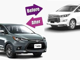 This is what the Toyota Innova Crysta Facelift Could Look Like