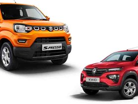 Best Automatic Cars in India under 5 Lakh - Maruti S-Presso to Renault Kwid