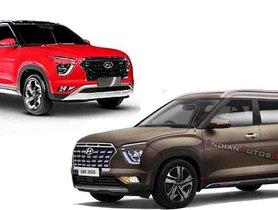 Hyundai Creta 7-seater Version Visualized Digitally