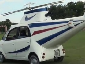 This Modified Tata Nano Wants to Fly - Wait, What?