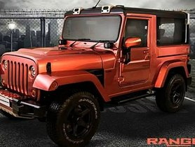 This DC-modified Mahindra Thar Ranger Looks Like An Absolute Stunner