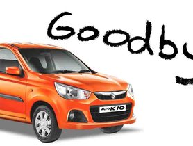 Maruti Alto K10 Officially Discontinued