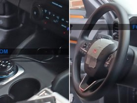 Ford Bronco Sport Interior Spied