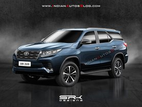 Toyota Fortuner Facelift - 5 Different Looks Visualized