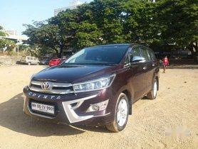 Used 2016 Toyota Innova Crysta MT for sale in Goregaon