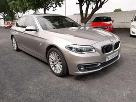 Used BMW 5 Series 520d 2014 AT for sale in Ahmedabad
