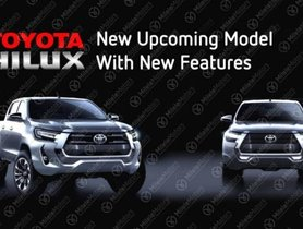 2021 Toyota Hilux Facelift Leaked