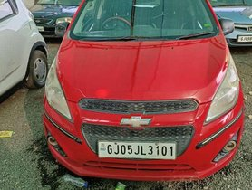 Used Chevrolet Beat 2015 MT for sale in Anand
