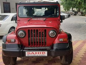2016 Mahindra Thar CRDI 4x4 for sale in Agra