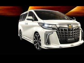 Toyota Vellfire and Alphard Get Modellist Kits