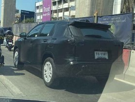 Toyota Corolla Cross C-SUV Spotted On Test For First Time Ever