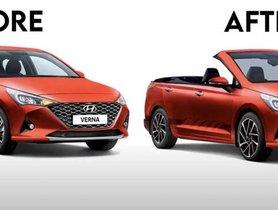 2020 Hyundai Verna Convertible Imagined Digitally