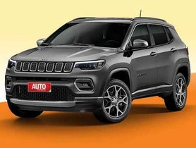Here's All That's Currently Known About the 2021 Jeep Compass Facelift