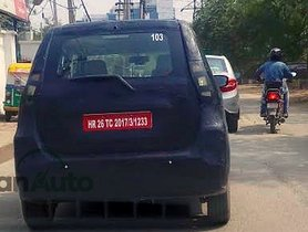 Maruti Wagon R EV Spied Testing in Gurgaon - Video