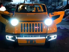 This Extremely Modified Maruti Gypsy Looks Funky