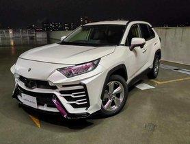 Toyota RAV4 Modified into Rs 3.1 Crore Lamborghini Urus for Just Rs 1.25 Lakh