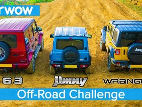 Is Suzuki Jimny a Better Offroader Than Mercedes G-63 AMG and Jeep Wrangler Rubicon? [VIDEO]