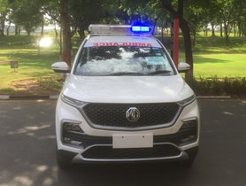 MG Hector Ambulance Donated to Vadodara Authorities