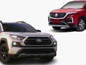 Toyota RAV4 and CH-R Could Launch Here to Rival MG Hector and Hyundai Creta
