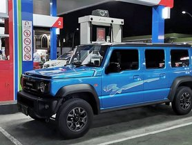 Next Generation Maruti Gypsy (5-dr Suzuki Jimny) Could Be A Mini-me Hummer