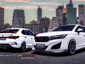 New-Gen Honda City Gets Body Kit Inspired from NSX Supercar