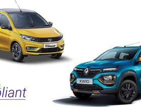 5 Cheapest BSVI Cars You Can Buy - Renault Kwid to Tata Tiago