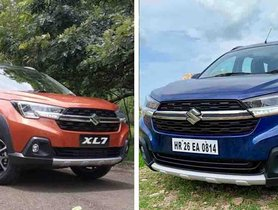 New Suzuki XL7 Is A Maruti XL6 With An Extra Seat