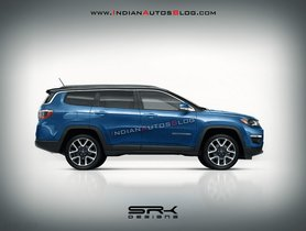 Bigger Jeep Compass (7-seater) to Rival Toyota Fortuner