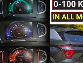 Hyundai Creta 1.4 Turbo 0-100 Acceleration Tested in All 3 Modes