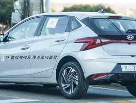 New Generation Hyundai i20 Snapped Out in the Sun