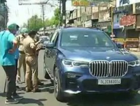 """Owner Drives BMW SUV From Noida To Meerut During Lockdown To """"Buy Vegetables"""""""