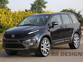How About a Tata Hexa Facelift With Harrier-like Face?