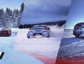 WRC Driver Tests 2020 Hyundai i20 N On A Frozen Lake