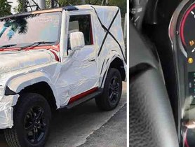 All New Mahindra Thar - BEST LOOK EVER!!