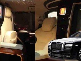 Toyota Innova Crysta With Rolls Royce Like Cabin Ambiance