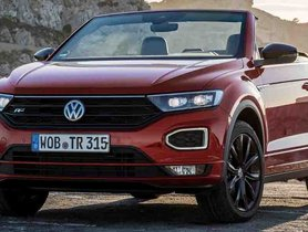 VW T-ROC Cabriolet Launched In Germany At Rs 23 Lakh