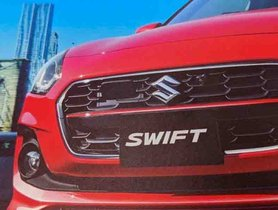 Refreshed Maruti Swift Leaked Through Brochure Scans