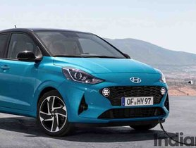 Hyundai i10 Electric Variant Not in the Offing