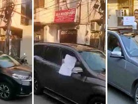 Relatives Find a Way to Mourn Demise of Beloved From XUV500, E-Class, Amaze, Other Cars – Video