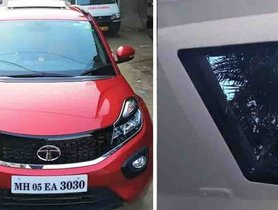 Here's an Old Tata Nexon With Electric Sunroof Worth Rs 60,000