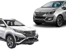 Cheaper-Than-Innova MPV From Toyota to Rival Mahindra Marazzo