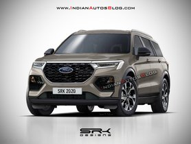 Next Generation Ford Endeavour Imagined Digitally
