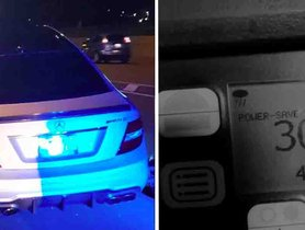 Teen Sneaks Dad's Mercedes and Clocks a TOTALLY ILLEGAL 308 kmph, NABBED