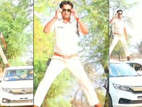 Cop Uses Two Honda Amaze to Do an Ajay Devgn, FINED