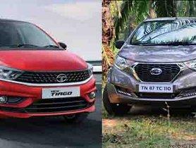 Best Mileage Cars In India Under 5 Lakhs: Datsun redi-GO To Tata Tiago