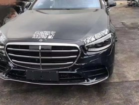2021 Mercedes-Benz S-Class Spied Inside Out Sans Camouflage