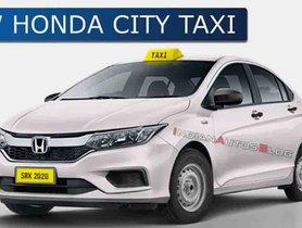 Upcoming Honda City Taxi Model Imagined Digitally