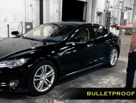 This Armoured Tesla Model S Is The Fastest Bulletproof Car In The World