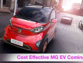 MG E200 'Cost Effective' Electric Car Could Launch in India