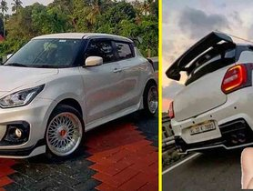 This Thoroughly Modified Maruti Swift Looks STUNNING